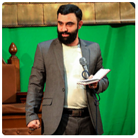 جواد مقدم میلاد امام رضا علیه السلام ۹۷